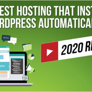 Best WordPress Hosting 2020 [Step-By-Step Guide]