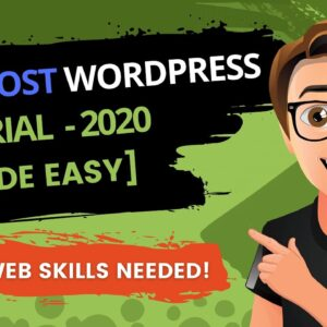 Bluehost WordPress Tutorial 2020 [Step-By-Step Guide]
