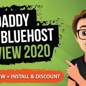 GoDaddy Vs Bluehost Review 2020 [Hosting Review 2020]