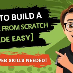 How To Build A Website From Scratch 2020 [NO CODING]