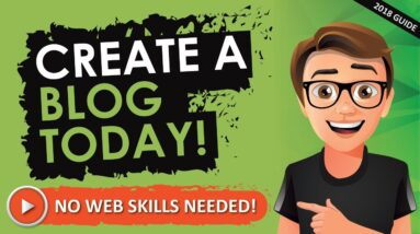 How To Create A Blog : For Beginners [THE EASY WAY]