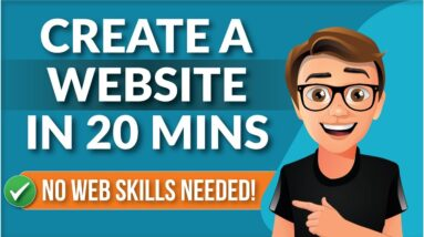 How To Create A Website For Beginners [NO CODING]