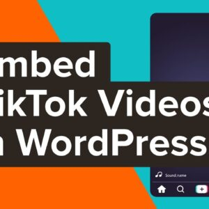 How to Embed TikTok Videos in WordPress
