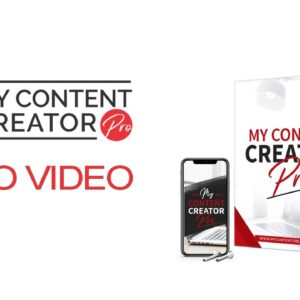 My Content Creator Pro Demo Video - Content Creation Software