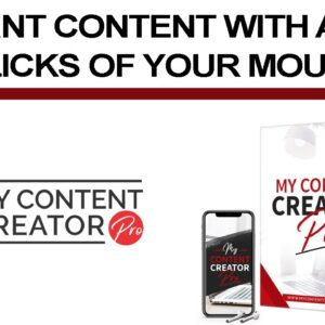 My Content Creator Pro Is A Powerful Content Creation Software