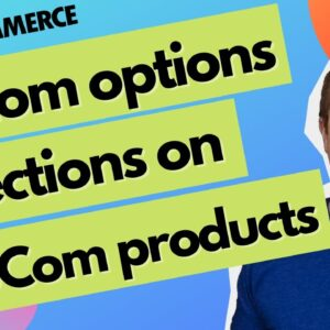 How To Add Product Options In WooCommerce - WooCommerce Product Options - Basic