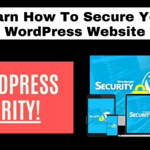Learn How To Secure Your WordPress Website With Our Tutorial Videos For Beginners