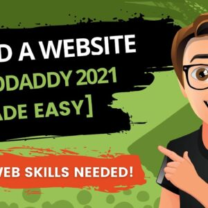 GoDaddy Website Builder Tutorial 2021 [How To Build A Website On GoDaddy]