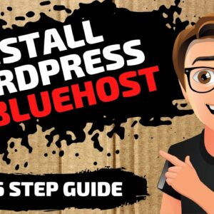 Bluehost Wordpress Install (In 6 Easy Steps) How To Install WordPress On Bluehost 2020