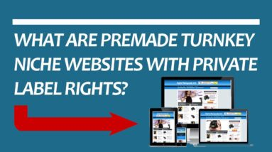 What Are Premade Turnkey Niche Websites With  Private Label Rights