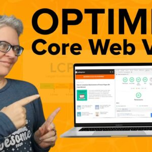 How to Optimize Core Web Vitals for WordPress Ultimate Guide