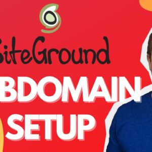 Set Up A Sitegournd Subdomain the right way!