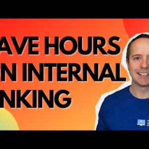 How To Do Great Internal Linking For SEO For Free Using Link Whisper