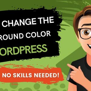 WordPress - How To Change The Background Color [2021] & More WP Tips