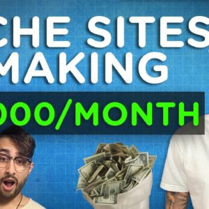 10 Examples of Niche Websites That Make Over $1000 Per Month!