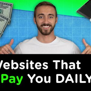 10 Websites That Will Pay You DAILY Within 24 Hours! (Work From Anywhere Jobs)