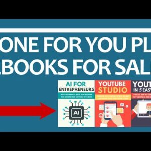 Done For You PLR eBooks For Sale [Private Label Rights Products]
