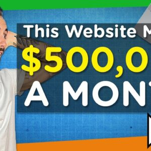 How This Stay-At-Home Mom's Website Makes $500,000/Month PASSIVELY!