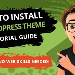 How to Install a WordPress Theme [2021]  🔥