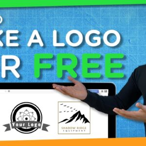 How to Make a FREE Logo in 5 Minutes | 2021