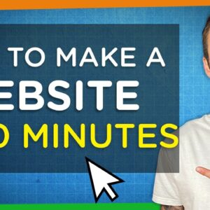 How to Make a Website in 10 Minutes | Easy & Simple 2020