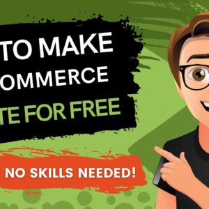 How To Make Ecommerce Website For Free 2021 🔥