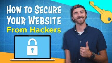 How to Secure Your Website From Hackers in 1 MIN (WordPress Website Security)
