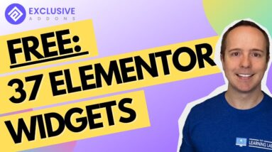 37 Free Elementor Widgets & Extenstions For Elementor By Exclusive Addons For Elementor