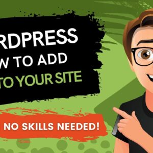 WordPress How To Add Video To A Page Or Post [2021]