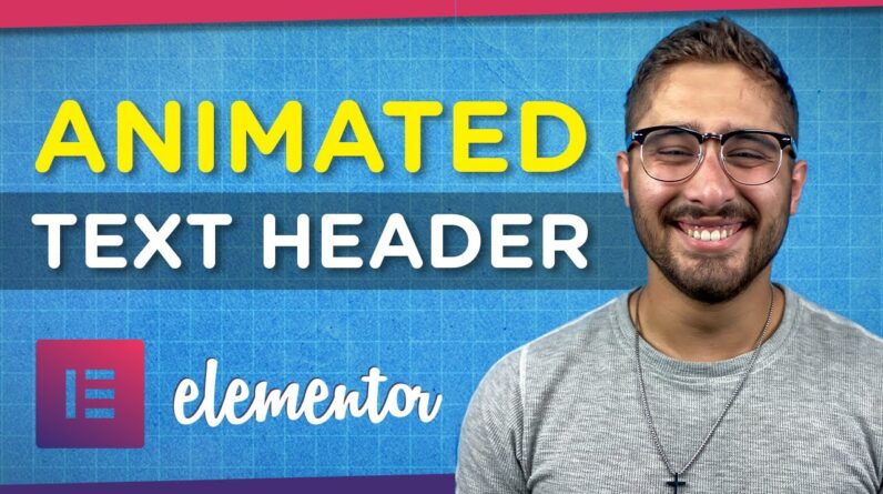 How to Add Animated Header Text to Your WordPress Website | Elementor Tutorial 2021