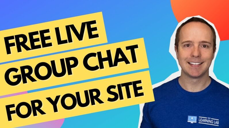 WordPress Chat Plugin - Free Chat Room With Group Chat - How To Add Live Chat In WordPress
