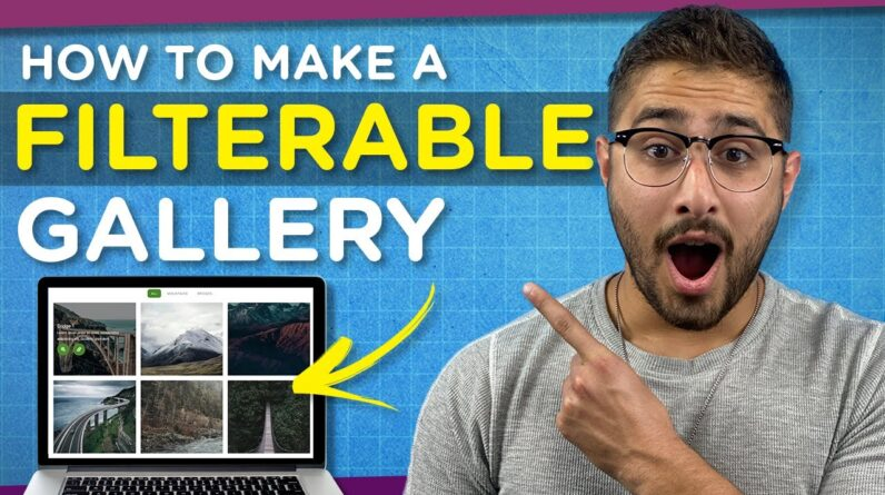 How to Add a Filterable Gallery to your WordPress Website | Elementor Tutorial 2021