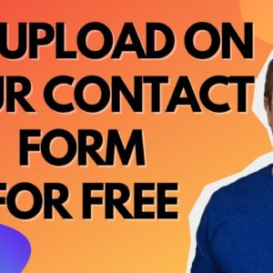 Contact Form With File Upload - WordPress File Upload In Contact Form 7