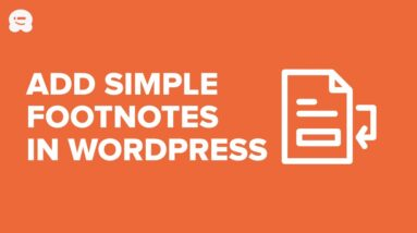 How to Add Footnotes in Your WordPress Blog Posts (Step by Step)
