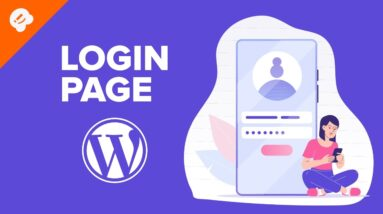 How to Add Front End Login Page and Widgets in WordPress
