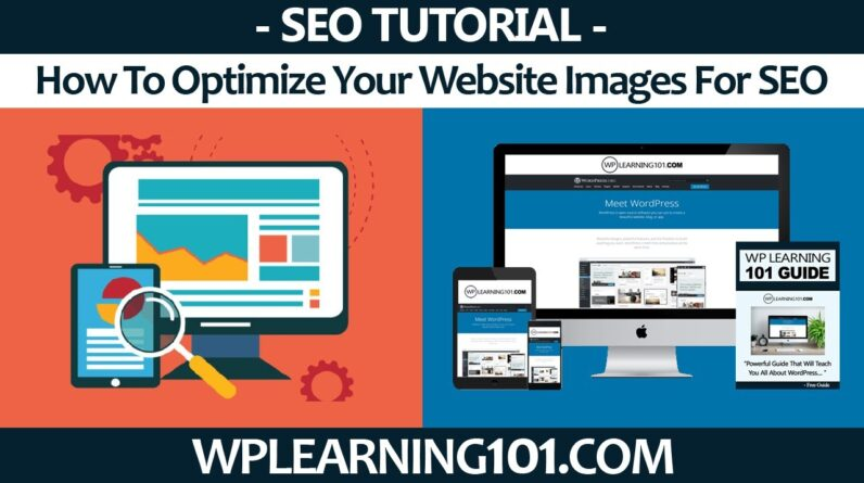How To Optimize Your Website Images For SEO In WordPress Dashboard (Step-By-Step Tutorial)